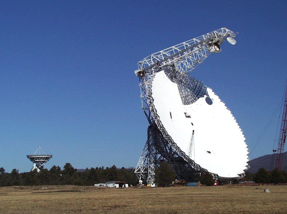 Green Bank Telescope Construction Progress